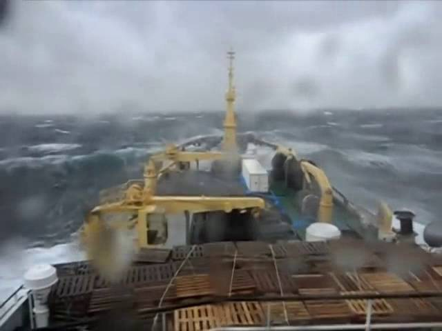 Корабль против шторма Шторм 9 баллов Корабль в шторм Ship against storm