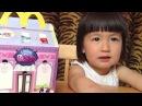 Дети, Макдональдс игрушки, игрушки в макдональдсе, видео для детей, ЛПС LPS toys Happy Meal, review