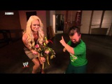 Hornswoggle gives Maryse Flowers - NXT 7/5/11