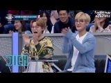 20170425 Leeteuk and Shindong lipsyncing H. O. T's Candy