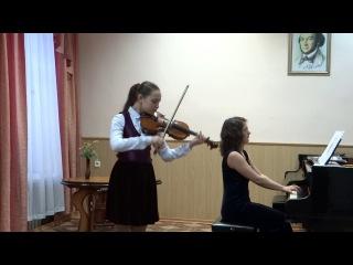 Сперанская Дарья, А.Корелли Ларго и аллеманда из Сонаты ми минор