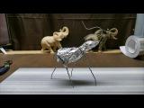 Sculpting an Elephant, part 2 Reinforcing Armature &amp Foil.