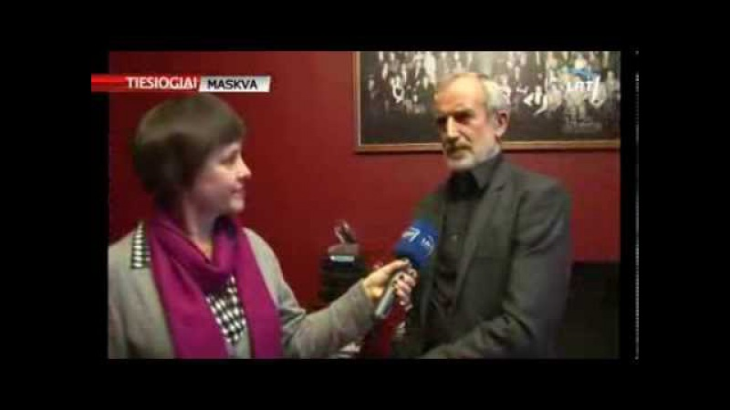 """Po 20 metų R. Tuminas spektaklį """"Nusišypsok mums, Viešpatie pastatė Maskvos teatre"""