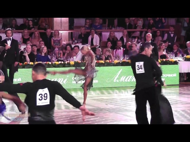 Рикардо Кокки и Юлия Загоруйченко - PASO - 2016 World Championships Pro Latin