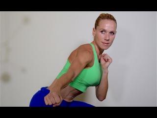 Julia Bognar - 1. At Home Fat Burning Cardio Workout Blast Fat. 21 Day Transformation | Кардио-тренировка (без инвентаря)