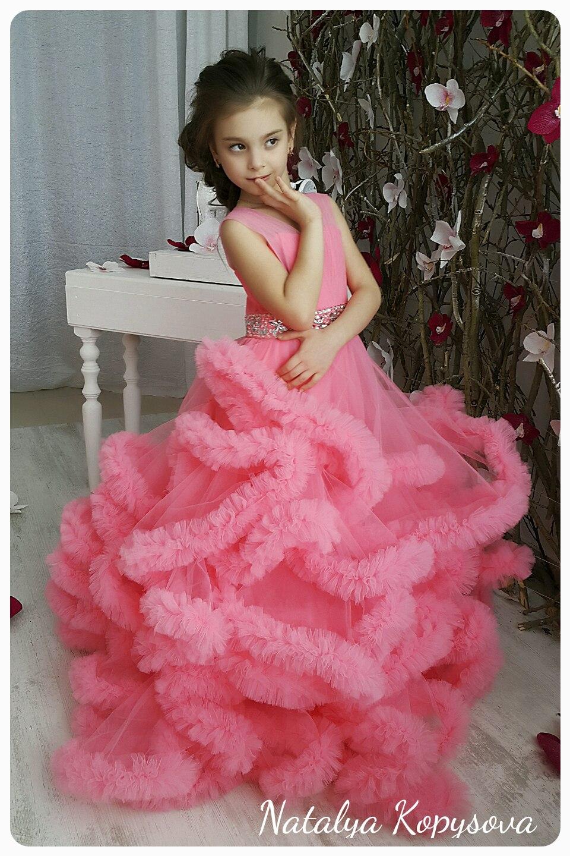 Платье облако своими руками для девочки 21