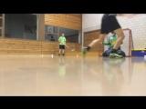 Трейнинг. Как улучшить удар по летящему мячу