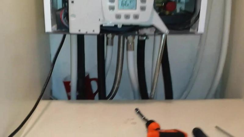 Baxi промывка вторичного теплообменника ангара печь с теплообменником