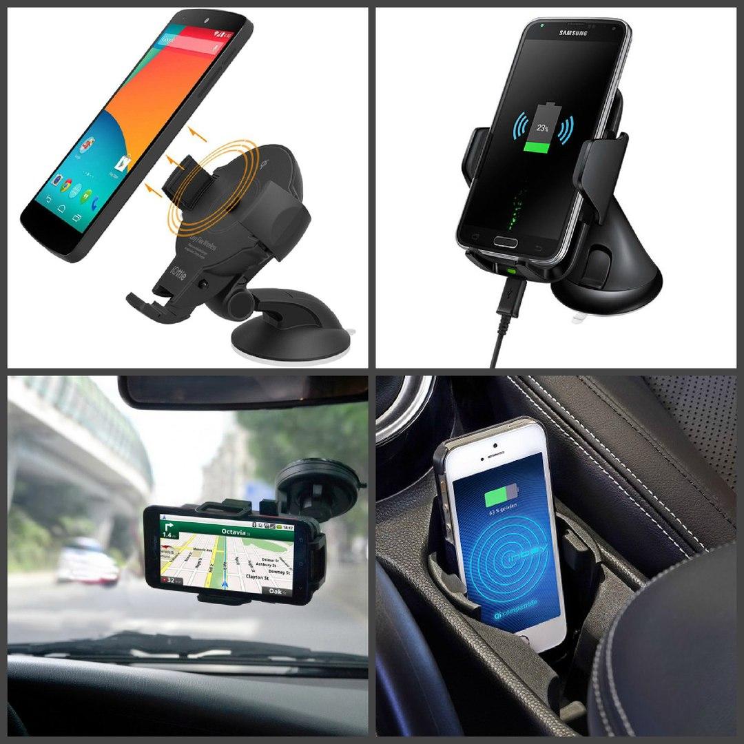 Беспроводная зарядка телефона для автомобиля