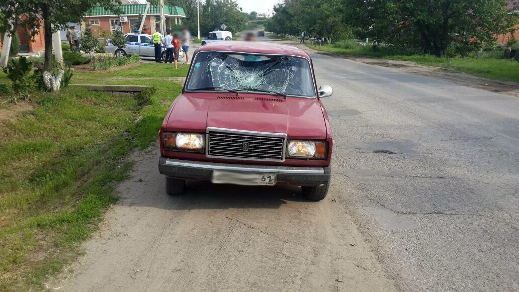 Под Таганрогом женщина на «ВАЗ-21074» сбила 15-летнего пешехода