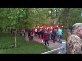 08.05.2016 Факельное шествие в Покотиловке