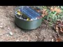 Робот Tertill для выпалывания сорняков на огороде