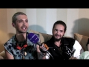 11.10.2014 - Exklusives Yahoo-Interview mit Tokio Hotel (original)