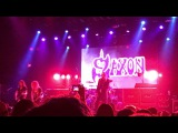 Saxon - Princess of the Night live at the Belasco LA 3-16-17