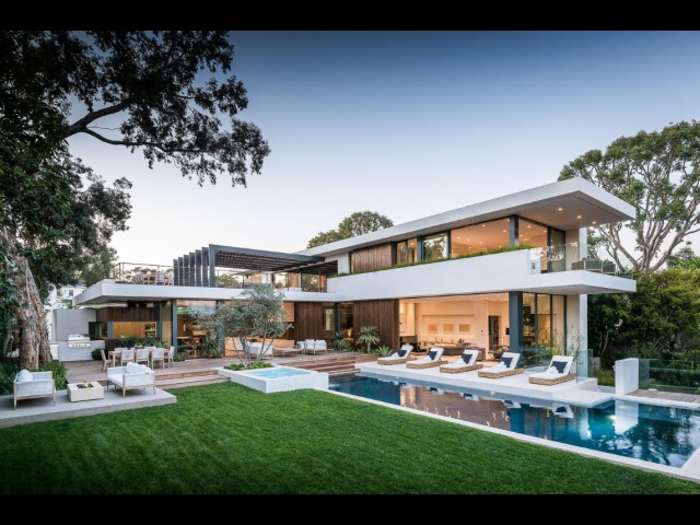 748 Amalfi Drive Pacific Palisades Quintessential California Modern