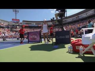 Киз М. – Халеп С. Обзор матча Теннис. Турнир WTA
