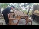 Складной стол трансформер или лавка трансформер