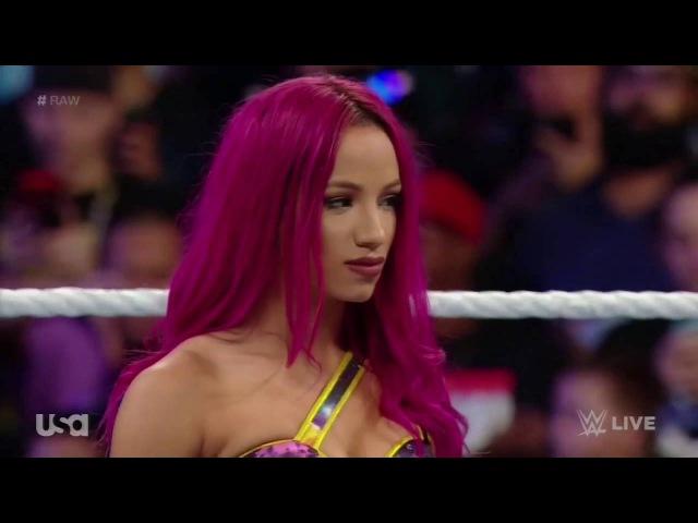 720pHD WWE Raw 06 27 16 Sasha Banks Paige vs Charlotte Dana Brooke