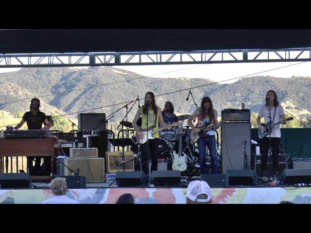 Jonathan Wilson Friends ~ Going Down The Road Feeling Bad 8/17/13 Levi's Party, Topanga CA