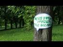 Зялёны супраціў. Актывісты не даюць ўладам вырубіць парк / Аб'ектыў < Белсат>