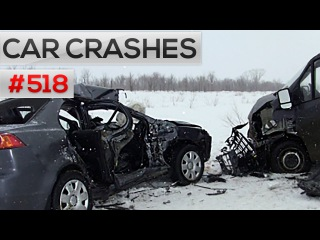 Car crashes caught on camera # 518 || Car crash compilation, accidents and Road rage 2016