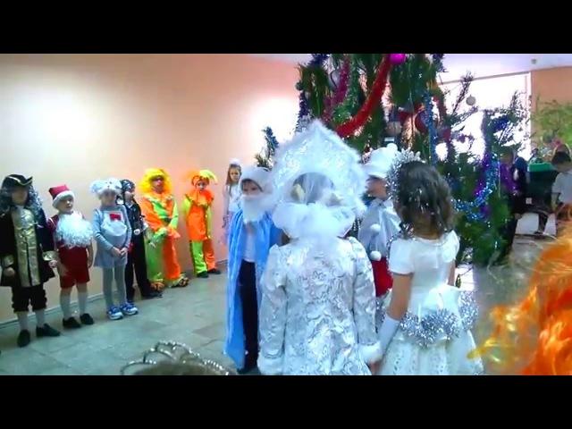 Новогодний Утренник в 1 классе 29.12.2015 СШ №2