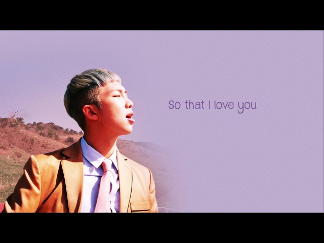 BTS Rap Monster x Jungkook – 알아요 (I know) [Color coded Han|Rom|Eng lyrics]