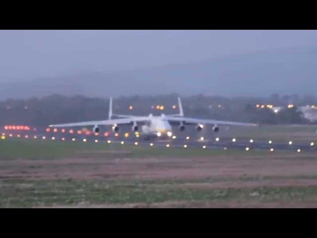 Despegue Antonov 225 - El Avión más grande y pesado del mundo | Capitán Aéreo