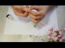 Как сделать цветы яблони из фоамирана раскрытый цветок яблоня из фома