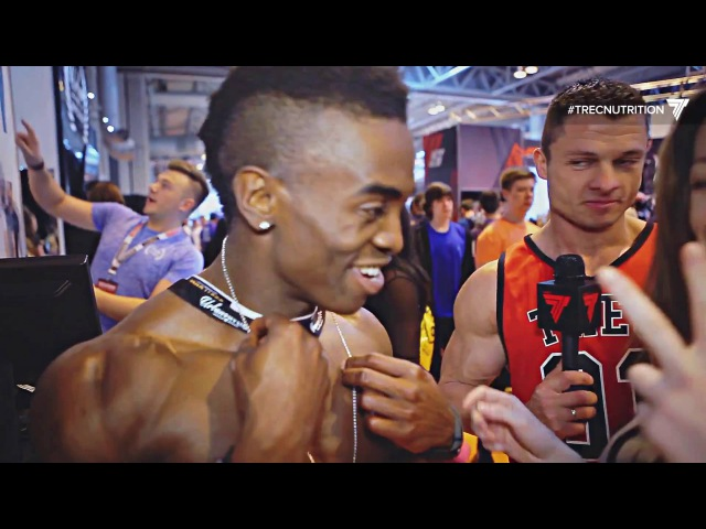💪💪💪 The BIGGEST BICEPS at BodyPower expo 2016