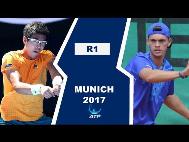 Hyeon Chung vs Maximilian Marterer Highlights MUNICH 2017