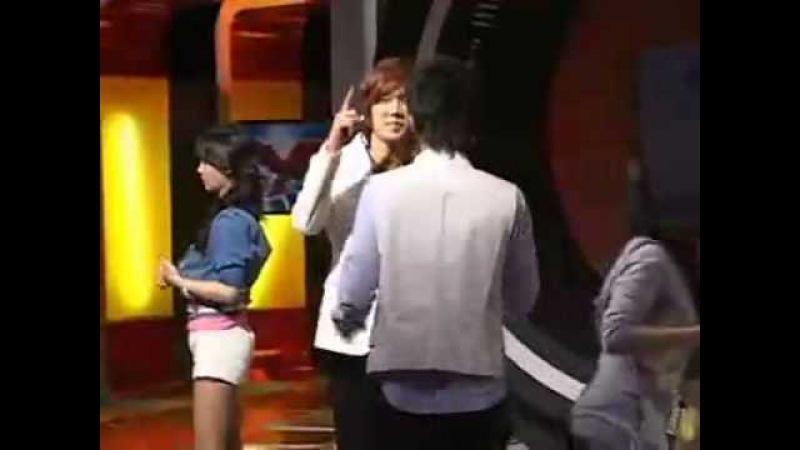 SS501 Park Jung Min and Kim Hyung Jun Practice Dancing_Cute