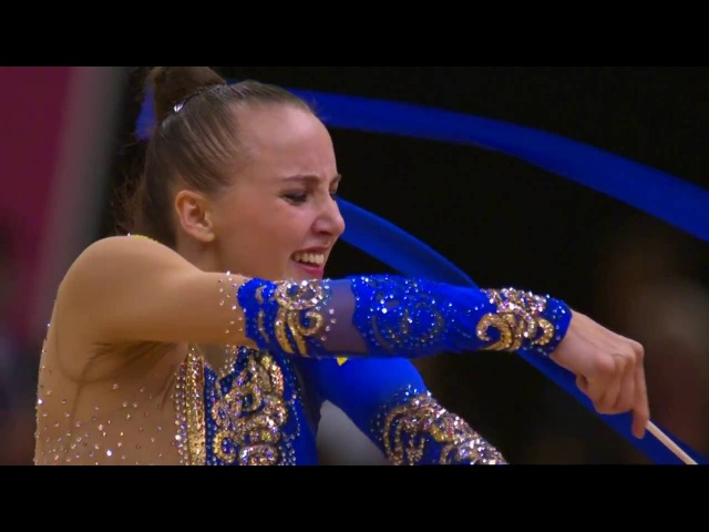 RIZATDINOVA Ganna UKR – Ribbon – Ind All Around Final – London 2012 – Olympic