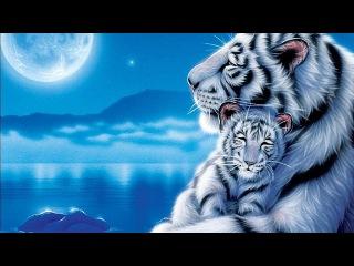Белый тигренок. Пиксель арт