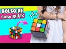 DIY ★ CONVIERTE un Cubo de Rubik en BOLSO ! ✔ ★ Así o Más Fácil ★