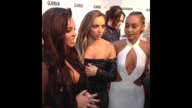 GlamourAwards Little Mix have arrived..