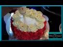 Оформление тортов кремом из взбитых сливок Один из способов изготовления роз из крема