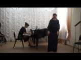 В.А. Моцарт Ария Керубино из оперы