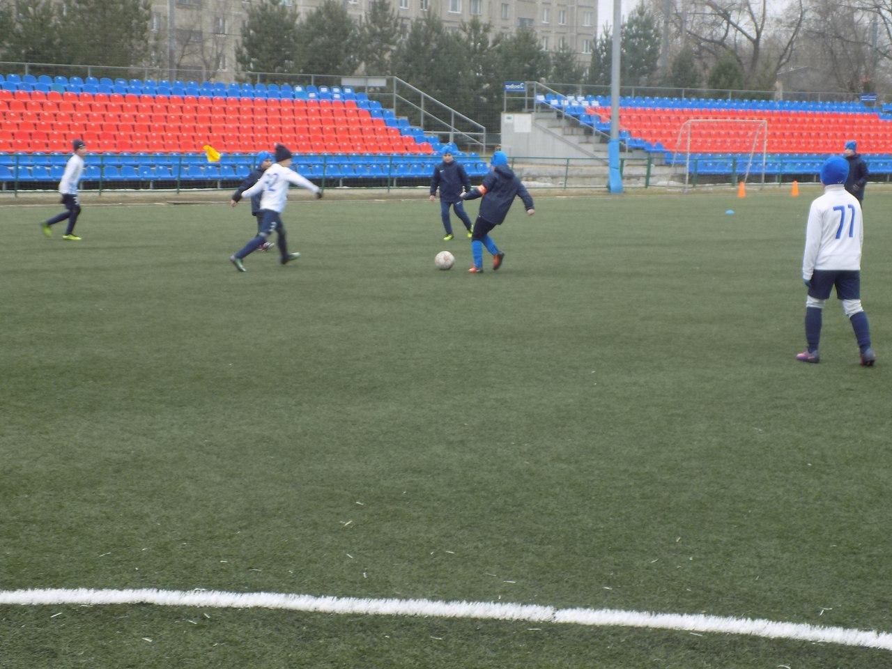 Итоги первого игрового дня турнира по футболу среди детских команд 2007 г.р.