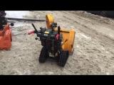 Тест | Краткий обзор снегоуборщика Cub Cadet 730 HD TDE на гусеницах