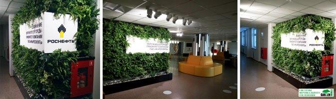 Инновационное ЭКО озеленение для вашего интерьера