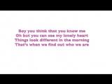 Zara Larsson - Don't Let Me Be Yours Lyrics