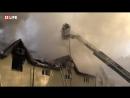 Пожар в здании следственного отдела СК по Троицкому и Новомосковскому округам