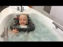 Саша в термальной ванне, санаторий Новый, Чехия, июнь 2016 года