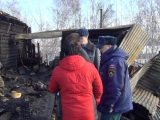Пожар в Молчанове, погибло 8 человек. 03.04.2016