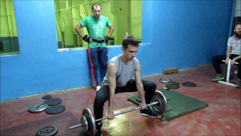 Powerlifting:6 место-Дмитрий Колумб Христофоров