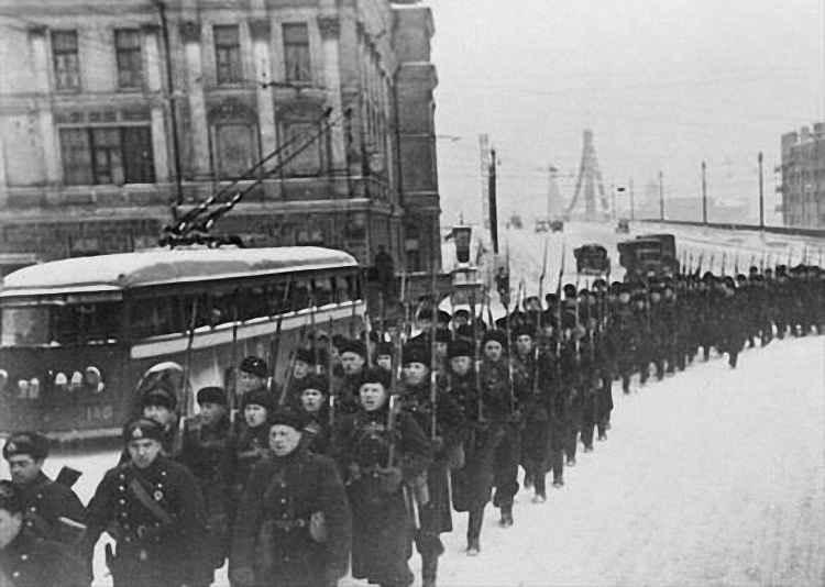 Битва за Москву Вторая мировая война