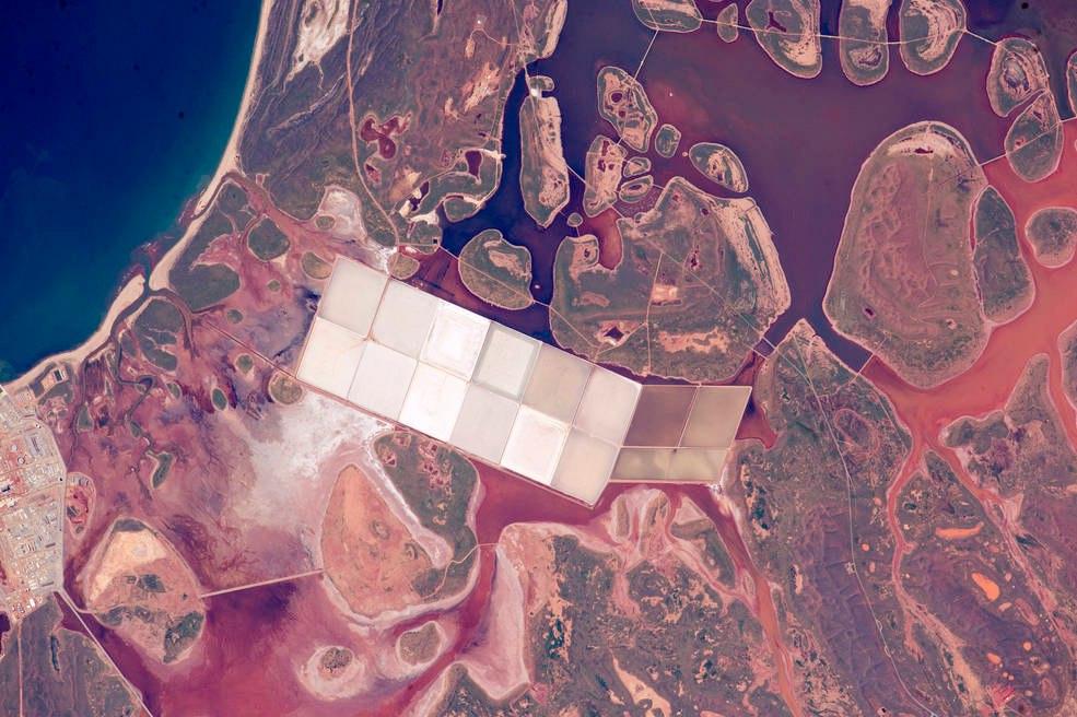 Солевые пруды, Западная Австралия