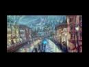 Пишем маслом дождливый Санкт-Петербург,девушку под зонтом!Круглова Людмила