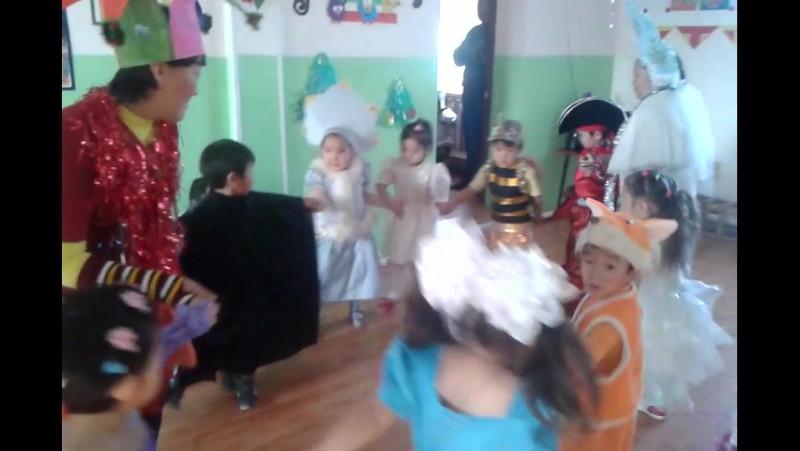 новый год 2016 Булумский детский сад Доча снегурочка